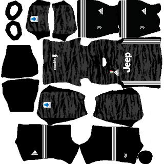 Juventus GK Home kits