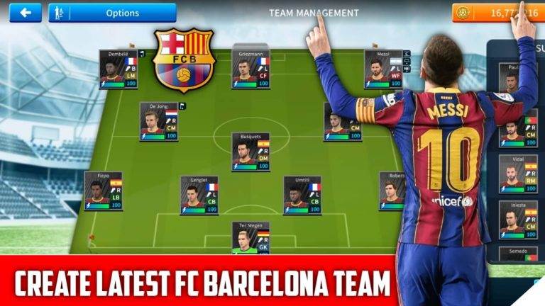Fc Barcelona Team Profile.dat / Save game data for dls 19